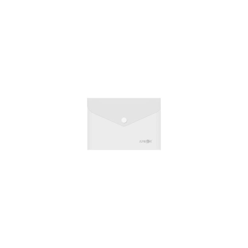 Obal s patentkou PP/A6, priehľadný/transparentný