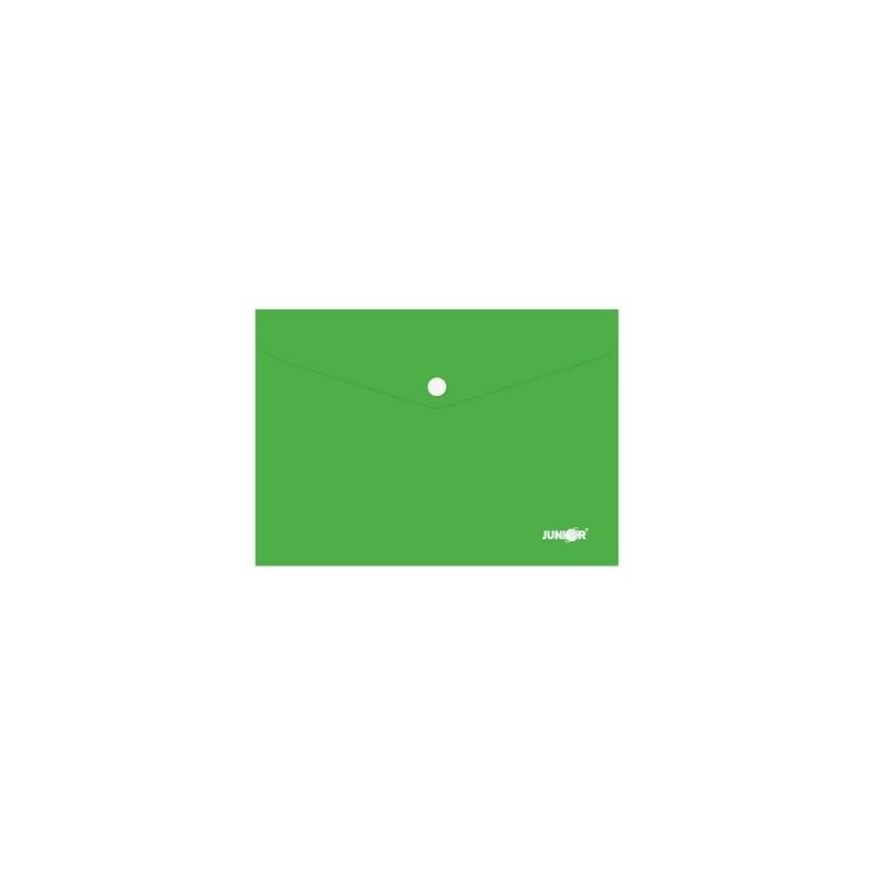 Obal s patentkou PP/A5, zelený