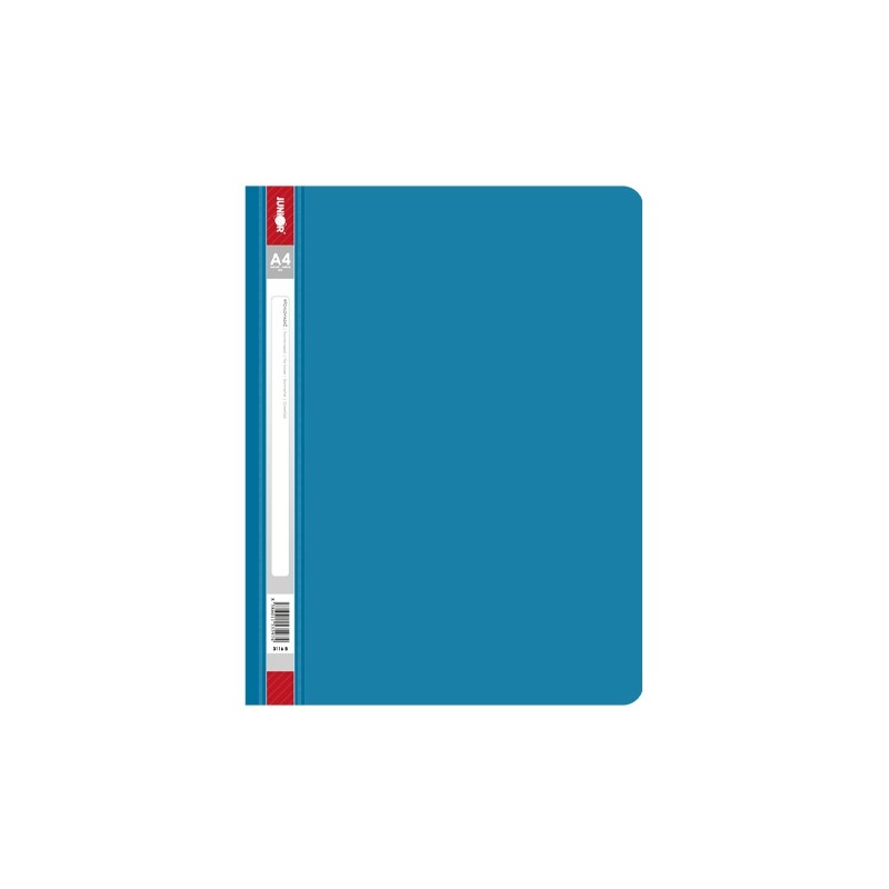 Rýchloviazač PP/A4, modrý