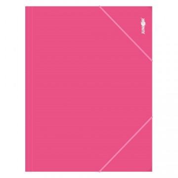 Zakladacia mapa s gumičkou PP/A4, ružová