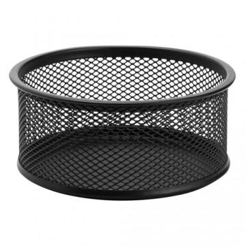 Drôtený stojan na spony, čierny