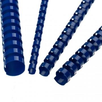 Hrebene plastové 14 mm modré