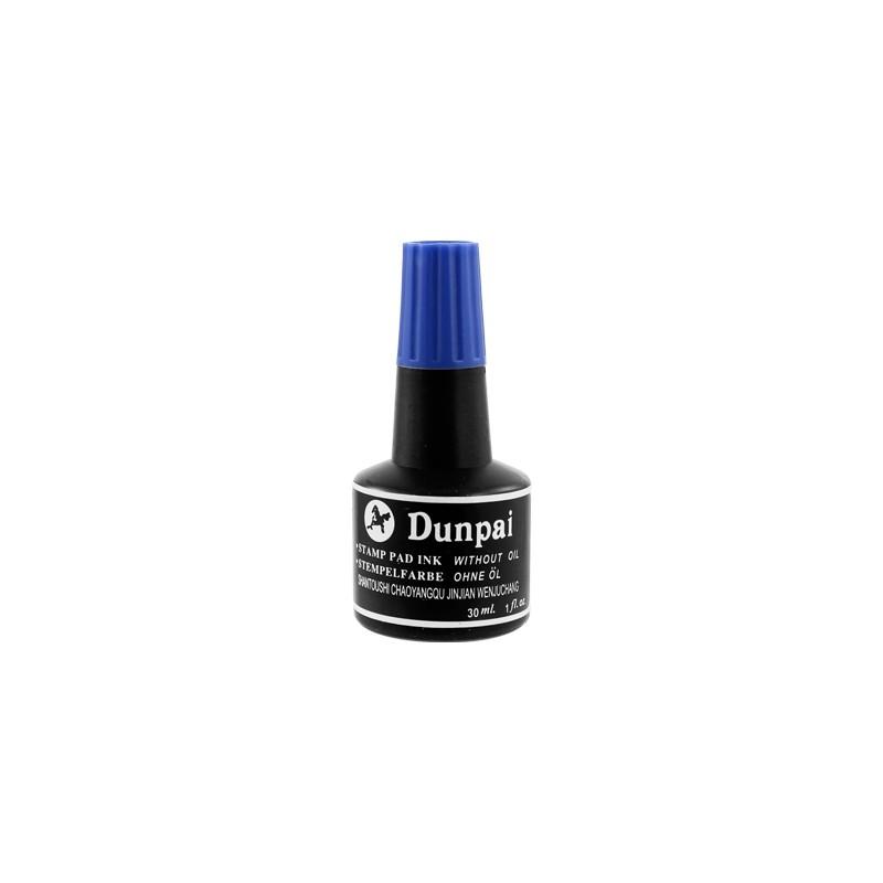 Pečiatková farba 30 ml - modrá