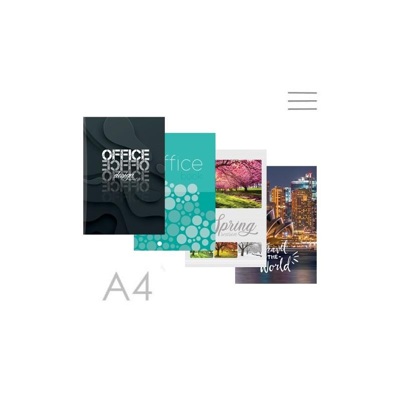 Kniha záznamová A4, linajková - 144 listová