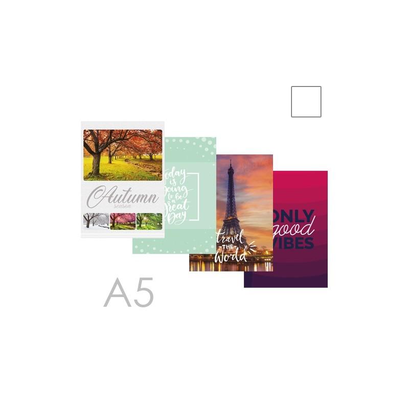 Kniha záznamová A5, čistá - 96 listová