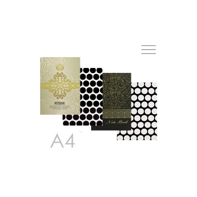 Kniha záznamová linajková A4 (96-listová) 60g/m2