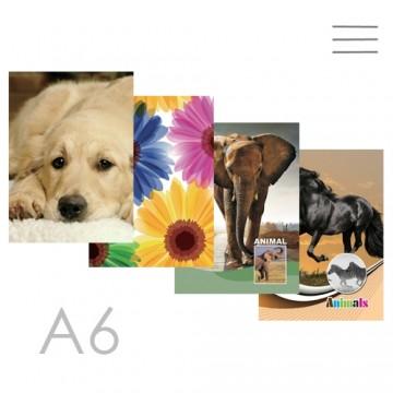 Kniha záznamová A6, linajková - 96 listová, Children Design