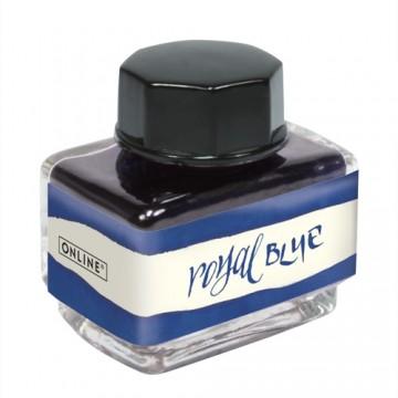 Fľaštičkový atrament ONLINE 15 ml - kráľovská modrý
