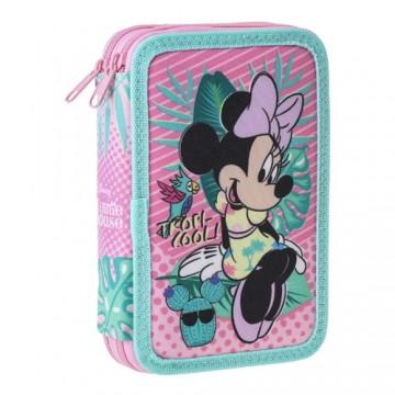 Peračník 2-poschodový/plnený Minnie Mouse Tropicool
