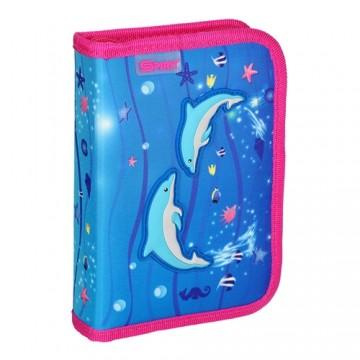 Peračník 1-poschodový/2 klopy plný, 3D Dolphins