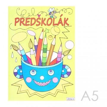 Omaľovánka A5 Litera - Predškolák