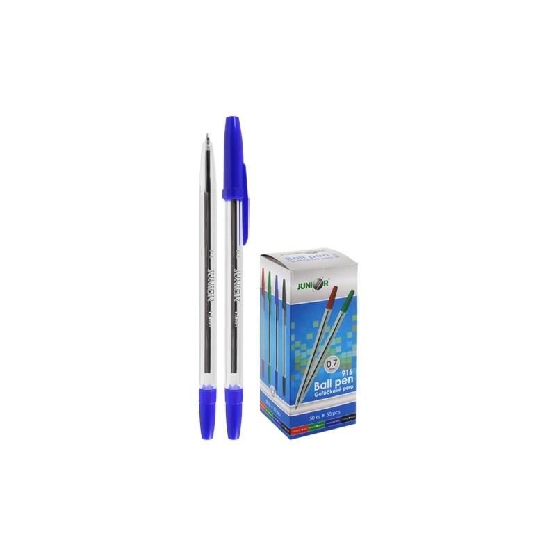 Pero guľôčkové Classic 916 - modré