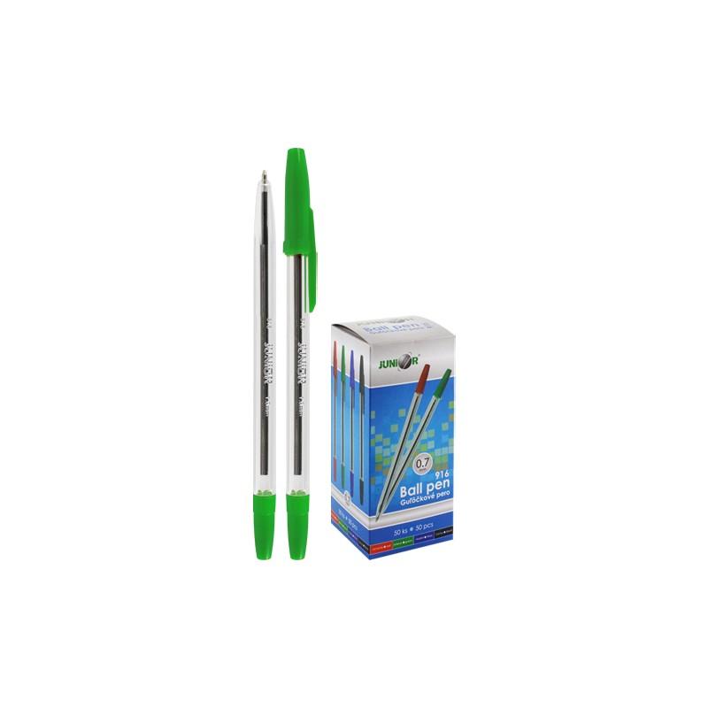 Pero guľôčkové Classic 916 - zelené