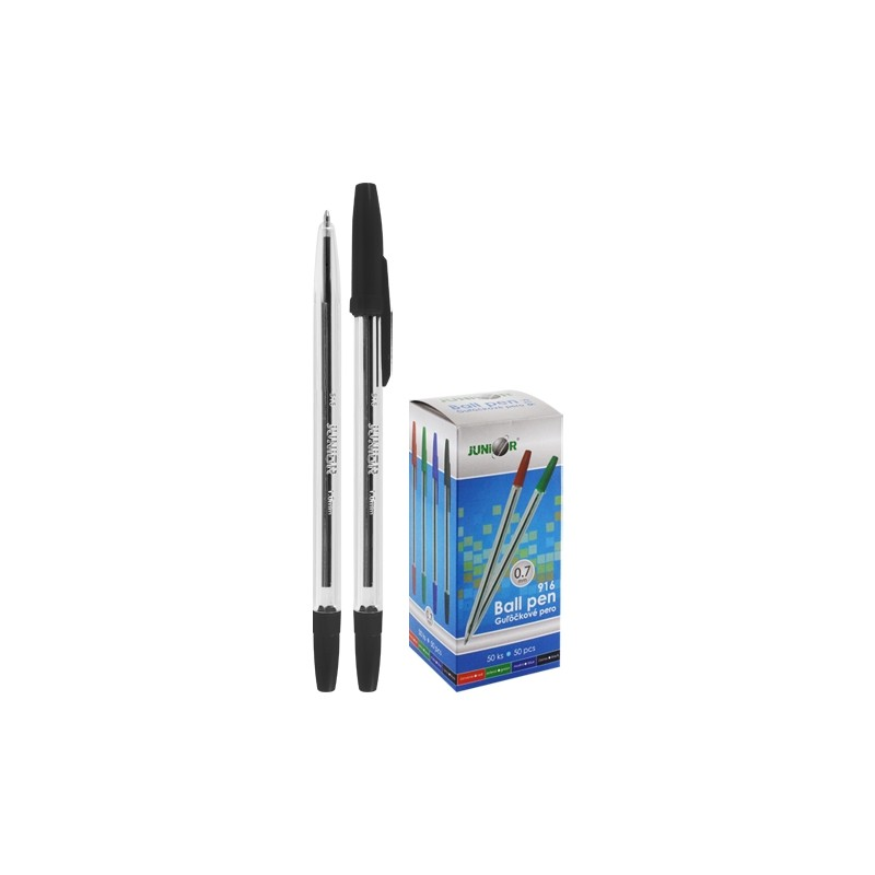 Pero guľôčkové Classic 916 - čierne