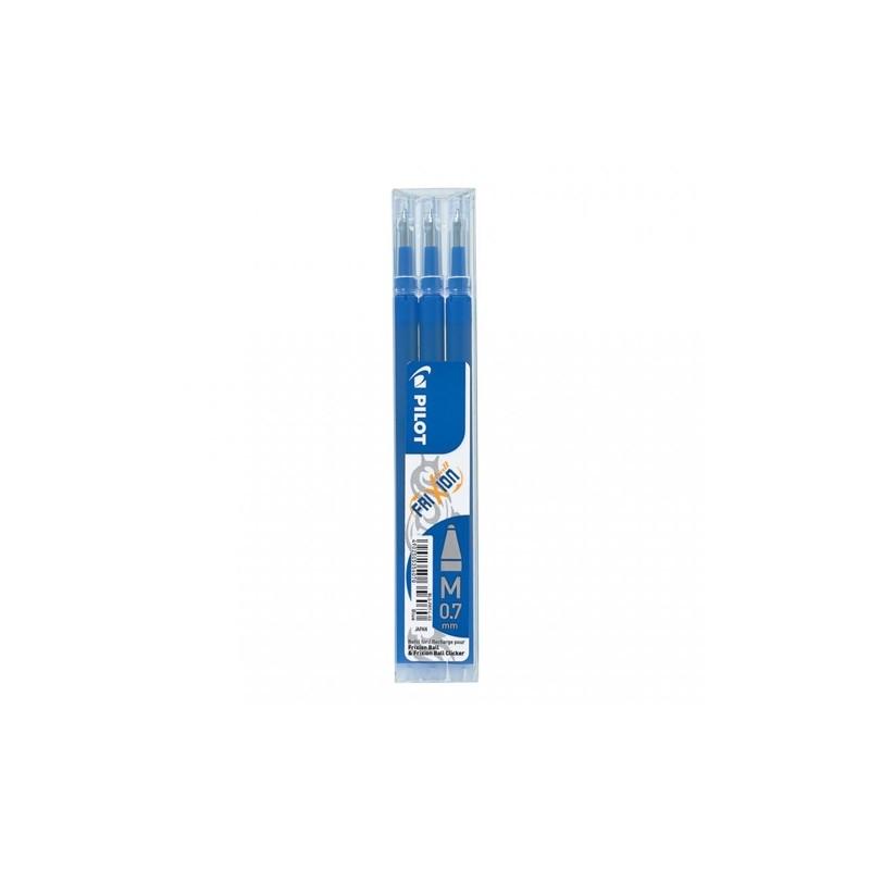 Náplň gumovacia PILOT Frixion 0,7 mm/3 ks - modrá
