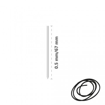 Náplň kovová R1004 (do 4-fareb. pera) 0,5 mm - čierna