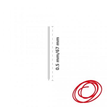 Náplň kovová R1004 (do 4-fareb. pera) 0,5 mm - červená