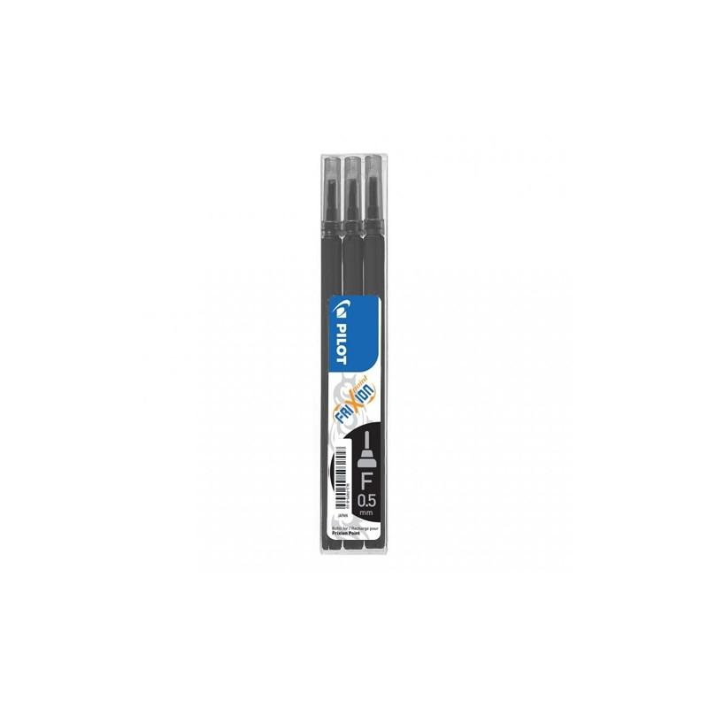 Náplň gumovacia PILOT Frixion 0,5 mm/3 ks Micro hrot - čierna