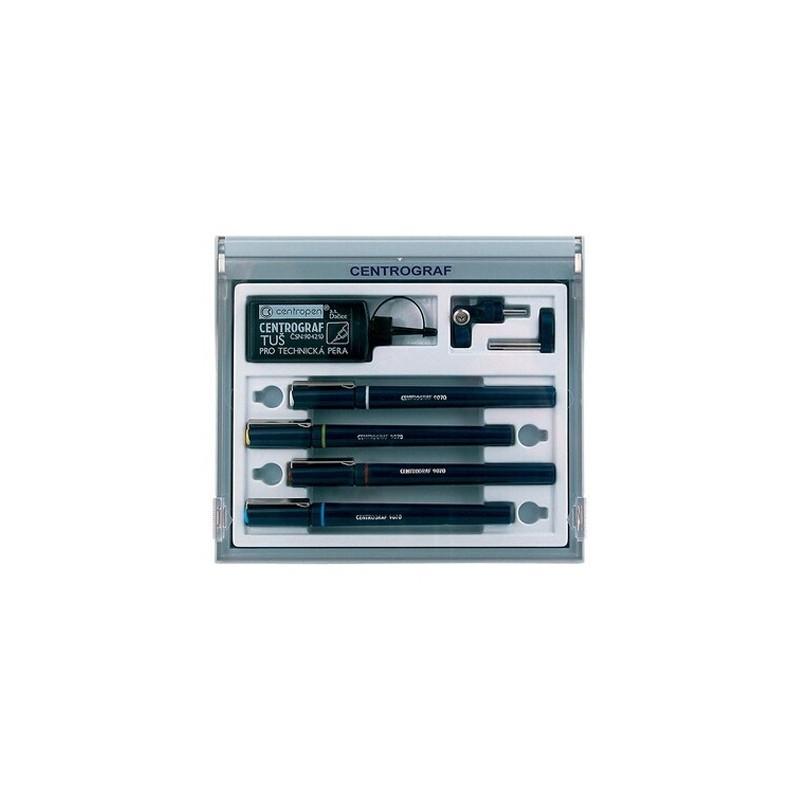 Pero technické CENTROPEN Centrograf 9070/ 4 sada