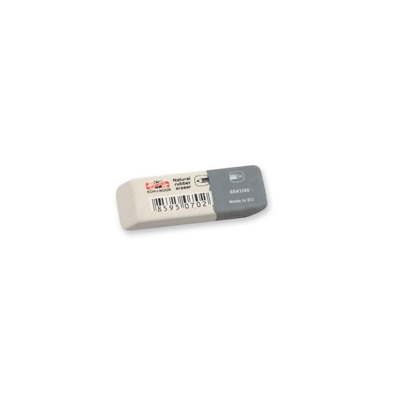 Guma KOH-I-NOOR 6541/40, bielo-sivá