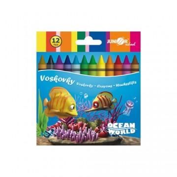 Voskovky 12 ks Ocean World