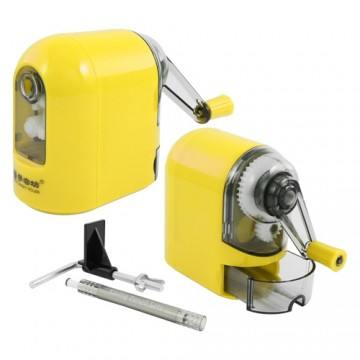 Strúhadlo stolové - mechanické, žlté