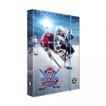 Box na zošity A4 Hokej