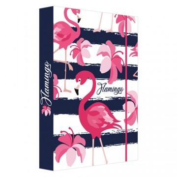 Box na zošity A4 Jumbo Flamingo