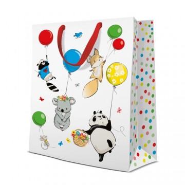 Darčeková taška PAW Animals Party, big - 30x41x12 cm