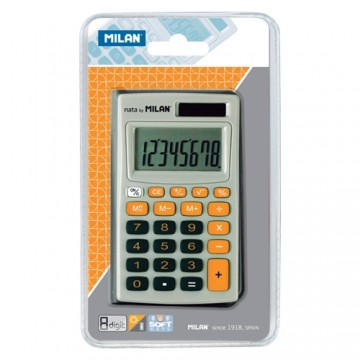 Kalkulačka MILAN vrecková 8-miestna 150208 oranžová
