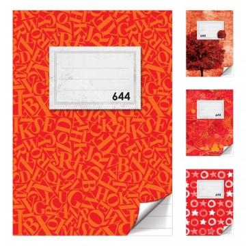 Zošit A6, 40 listový - linajkový 644