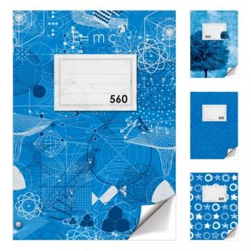 Zošit A5, 60 listový - čistý 560