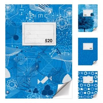 Zošit A5, 20 listový - čistý 520