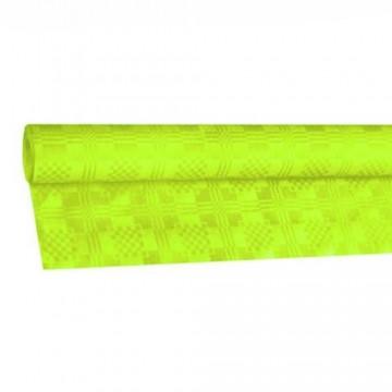Papierový obrus rolovaný 8x1,20m, žltozelený