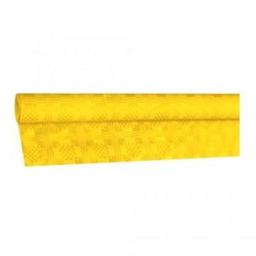 Obrus papierový rolovaný 8 x 1,20 m, žltý