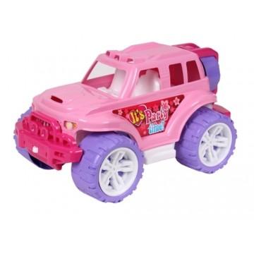 Auto SUV 35cm ružové