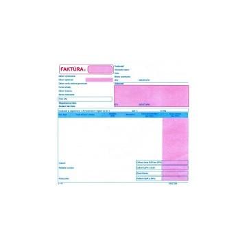 Faktúra-21x20 cm-dvojfarebná,samoprepis