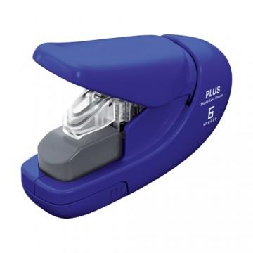 Zošívačka PLUS Paper Clinch mini SL-106AB (na 6 listov), modrá