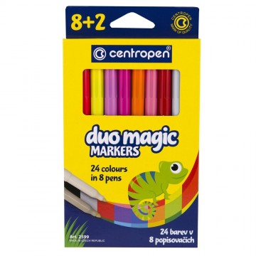 Fixy CENTROPEN 2599 Duo Magic - sada 8+2