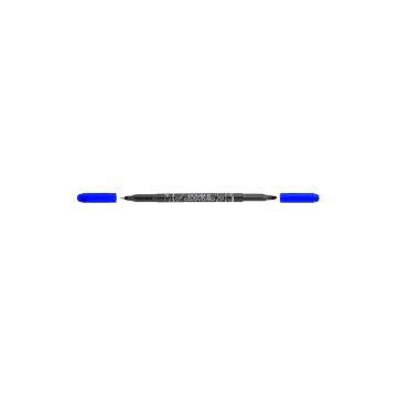 Popisovač CENTROPEN 3616 Double CD/DVD/BD - modrý