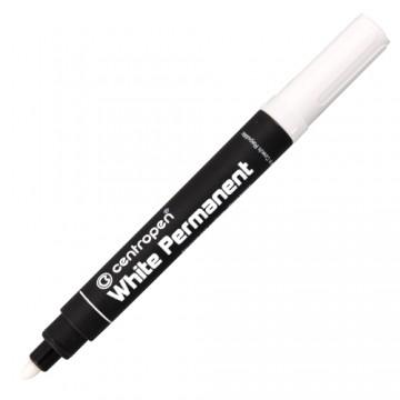 Popisovač CENTROPEN 8586 - 2mm biely