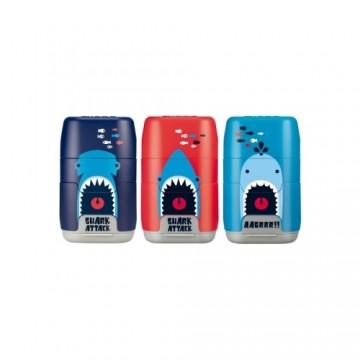 Guma + strúhadlo MILAN Capsule Shark Attack