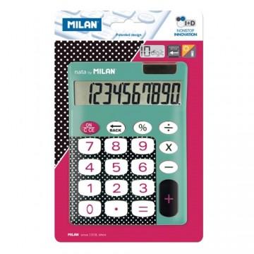 Kalkulačka MILAN stolová 10-miestna 150610 tyrkysová