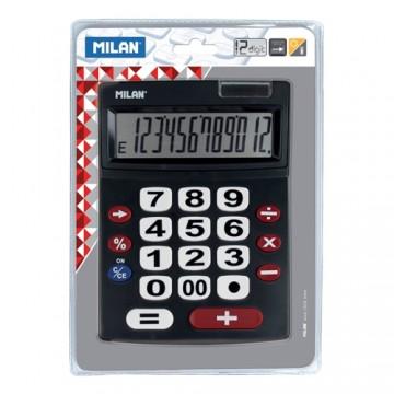 Kalkulačka MILAN stolová 12-miestna 151712 čierna