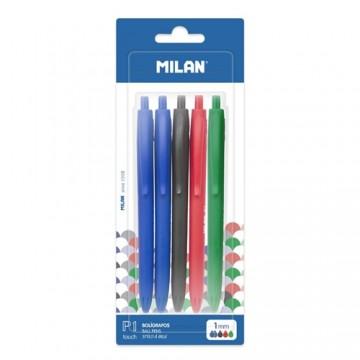 Pero guľôčkové MILAN P1 Touch 1,0 mm - sada 5 ks