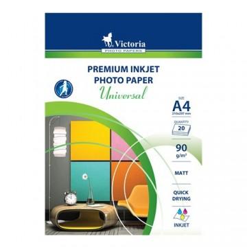 """Fotopapier VICTORIA """"Universal"""", pre atramentovú tlač, matný, A4"""