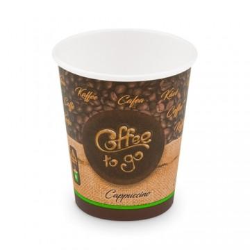 """Pohár papierový """" Coffee to go"""" 280 ml M (50KS)"""