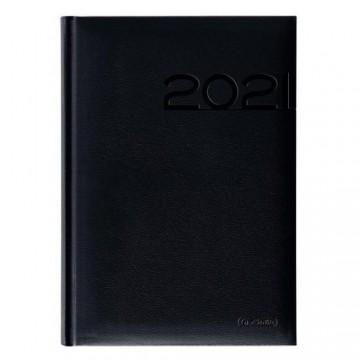 Diár 2021 denný A5 Cheftimer - čierny