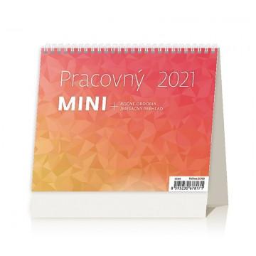 Kalendár stolový 2021 Pracovný Mini
