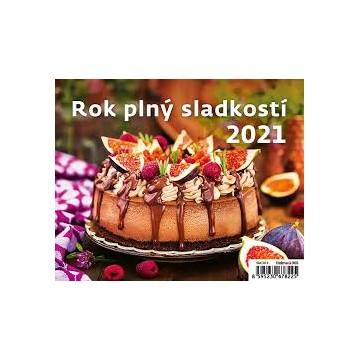 Kalendár stolový Rok plný sladkostí 2021